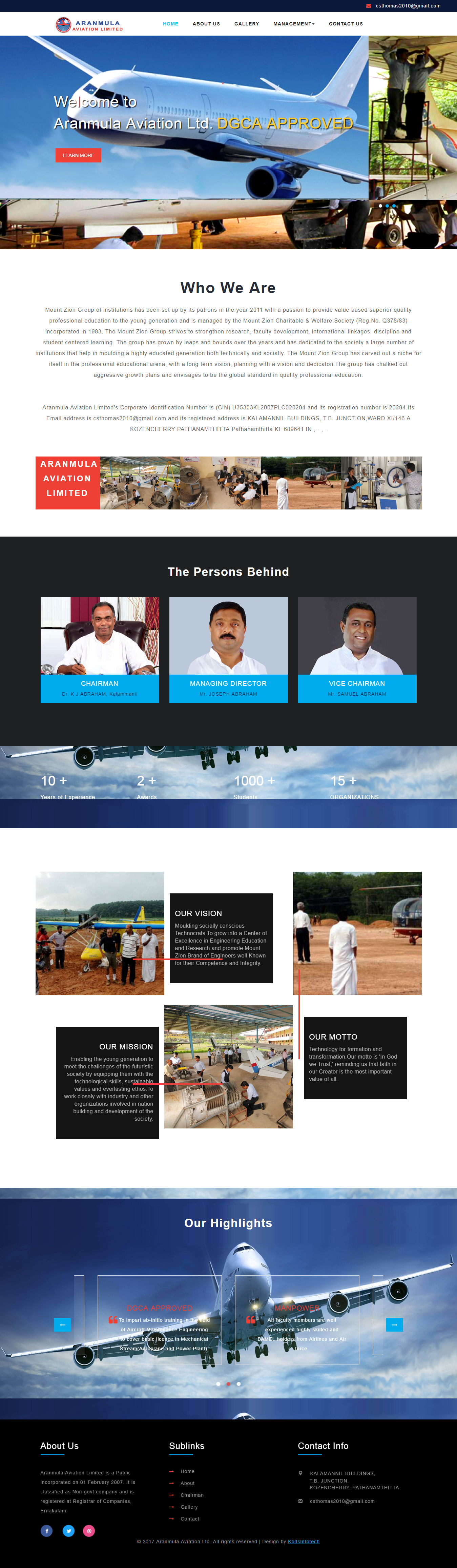 ARANMULA AVIATION